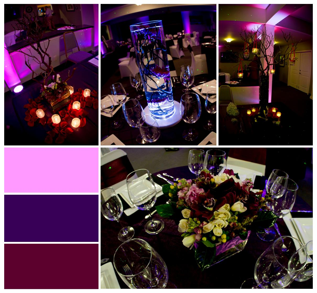 Eggplant And Red And Purple Wedding Ideas: Eggplant, Fuchsia & Red: Wedding Events & Expos