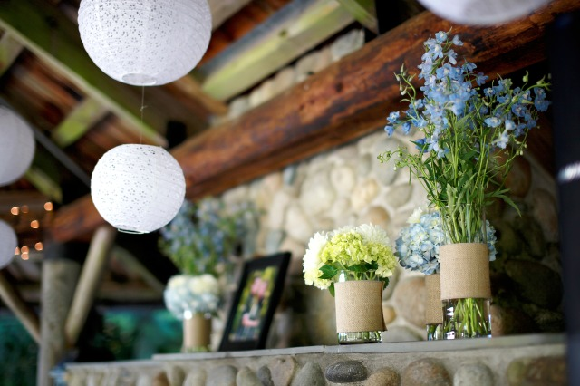 Cylinders of Flowers at Cedar Springs