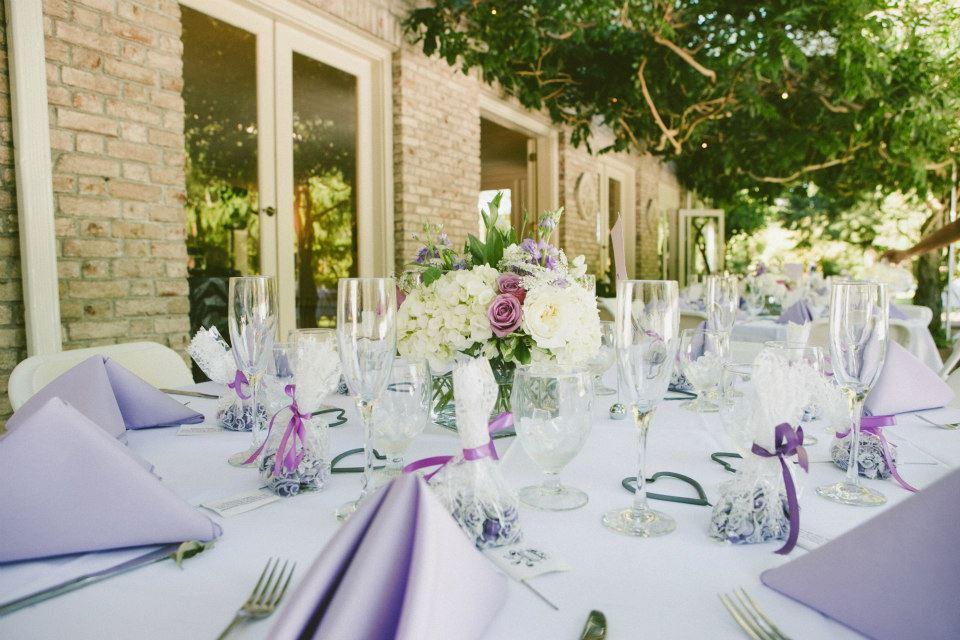 Lavender & White at Lakewold Gardens: Real Wedding | Jen\'s ...