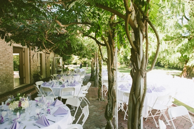 Outdoor Reception Lakewold Gardens