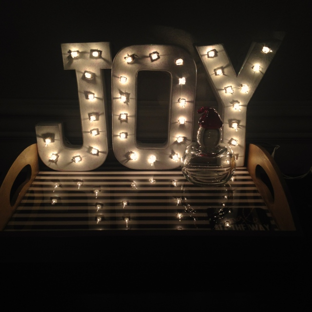 Joy Marquee by Jen's Blossoms
