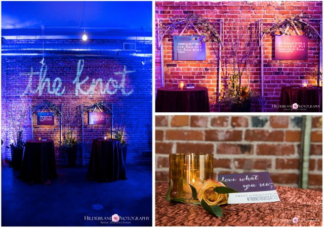 The Knot Seattle Market Mixer 2014 Focal Wall